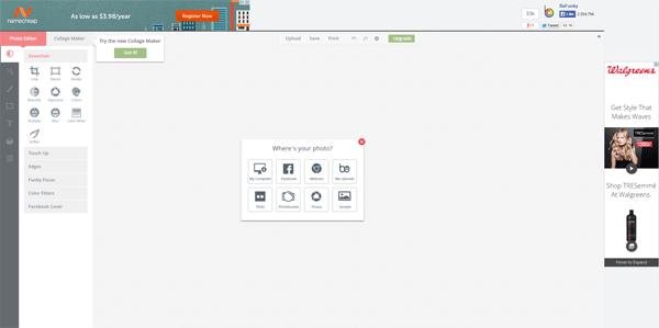 BeFunky Easy Online Image Editor