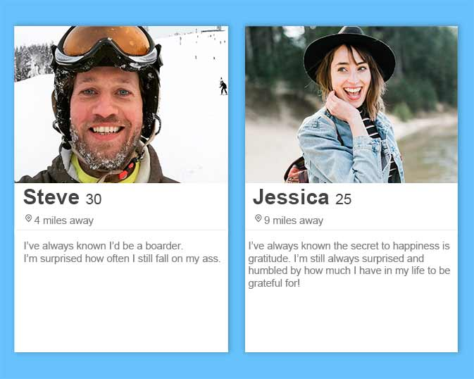 best Tinder bios and Tinder profile tips including a template for how to show your values