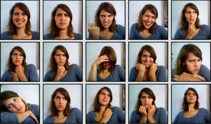 Get very different photo scores by changing your facial expressions slightly