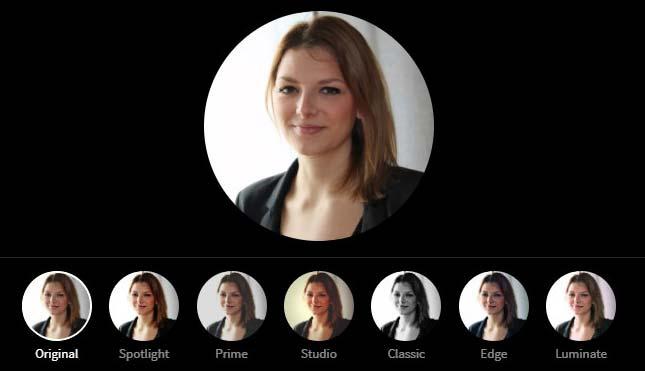 LinkedIn Profile Picture Photo Editor - No Filter