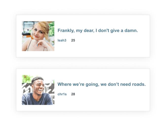 sweet dating headlines