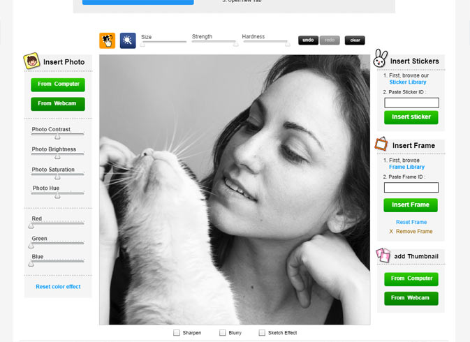 Profile Picture Maker Review Screenshot